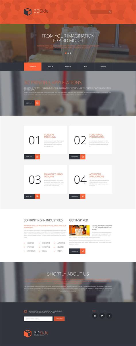 130 Best Images About Monstroid Wordpress Theme On Steroids On Pinterest Landing Pages Printing Website Template Free