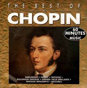 best of chopin f chopin the best of chopin cd at discogs