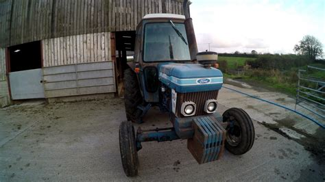 ford  qcab  rare tractor youtube