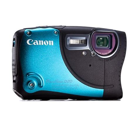 Kamera Underwater Canon D20 canon powershot d20 review rating pcmag