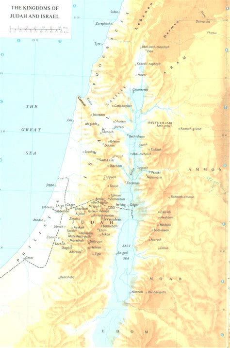biblical map of israel free bible maps free bible maps studies free bible