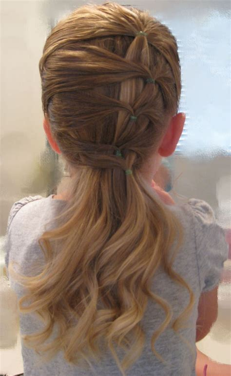 childrens haircuts edmonton best 25 cute easy ponytails ideas on pinterest easy