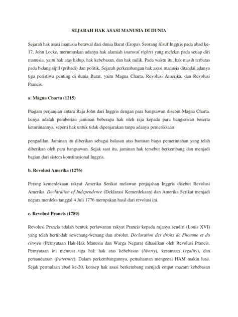 Sejarah Tato Di Indonesia | sejarah hak asasi manusia di dunia