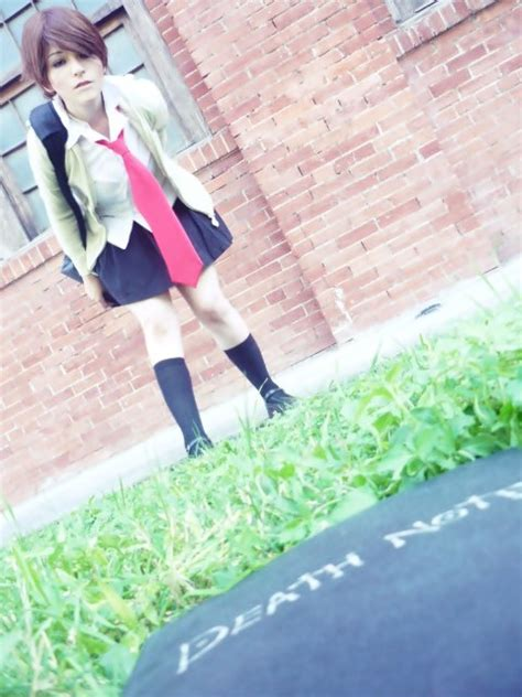 yagami light woman cosplay by nao dignity on deviantart