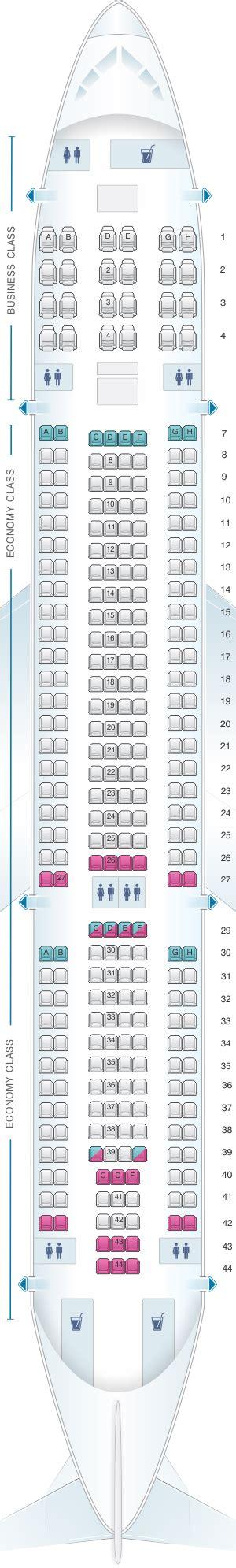 a332 seat map mapa de asientos air europa airbus a330 200 plano
