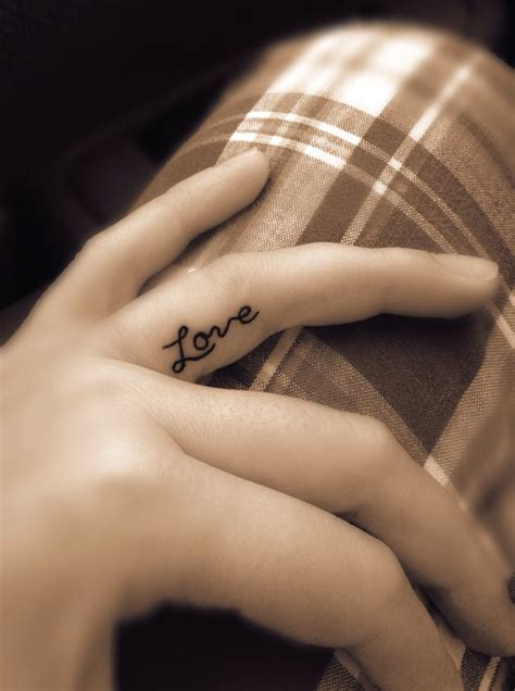 love tattoo on finger 18 best images about tattoos on lace black
