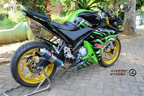Gambar Variasi Motor by 10 Gambar Modifikasi Yamaha Vixion Variasi Keren Banget