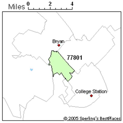 bryan texas zip code map best place to live in bryan zip 77801 texas