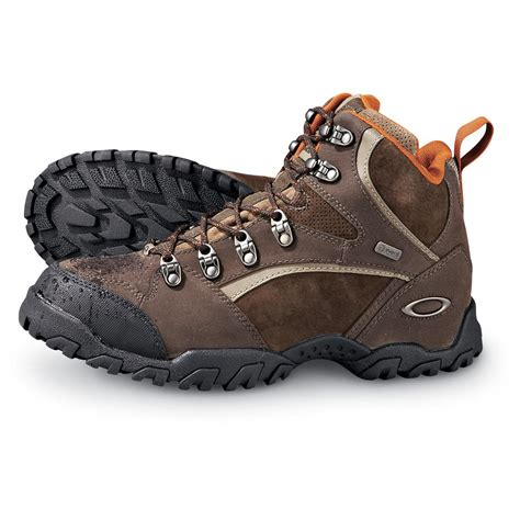s discount hiking boots s oakley 174 waterproof cartridge hiking boots brown