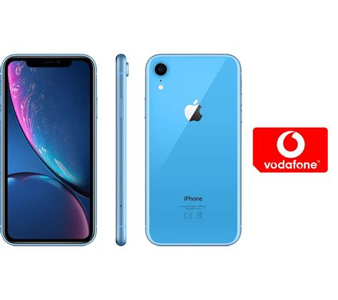 buy apple iphone xr pay as you go micro sim card bundle 128 gb blue free delivery currys