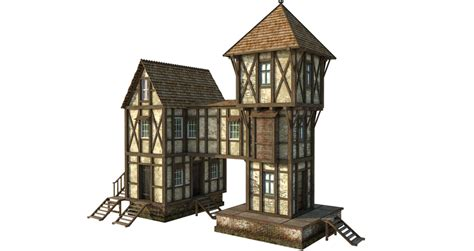 House Building Plans by Medieval House 1b Png By Fumar Porros On Deviantart