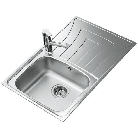 Teka Universo 1b 1d 79 Stainless Steel Inset Sink Ctk1054box Teka Kitchen Sinks