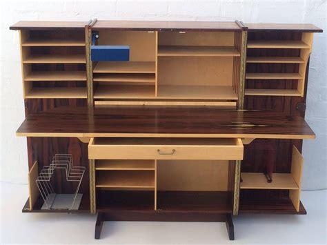 Fold Up Desks by Rosewood Fold Up Desk At 1stdibs