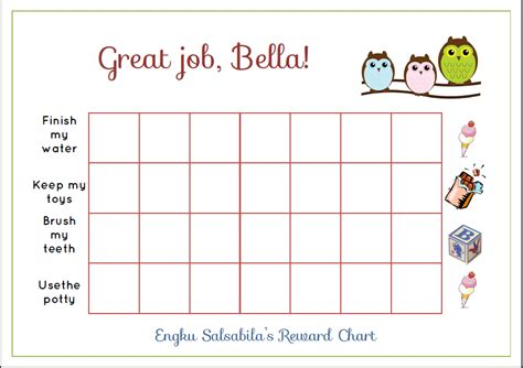 printable charts for toddlers free printable toddler reward chart for you mommy