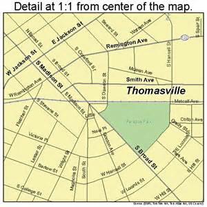 thomasville map thomasville map 1376224