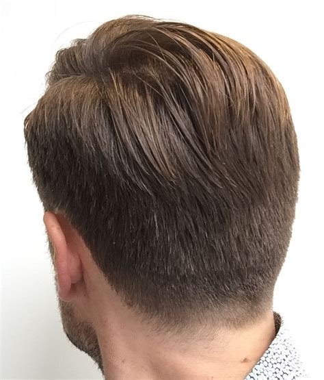 view from back of pompadour hair style back view pictures of pompadour hairstyles back view from