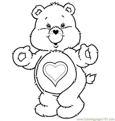 care bear coloring pages pdf care bears t coloring page free care bears coloring