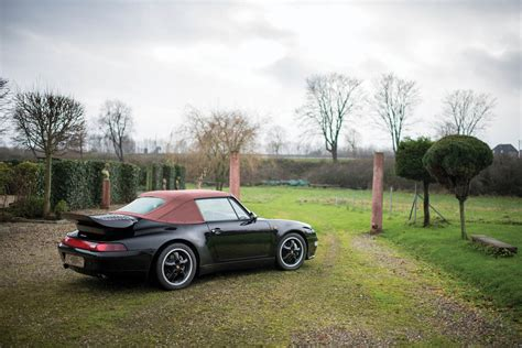 porsche made porsche only made fourteen 993 turbo cabriolets and this