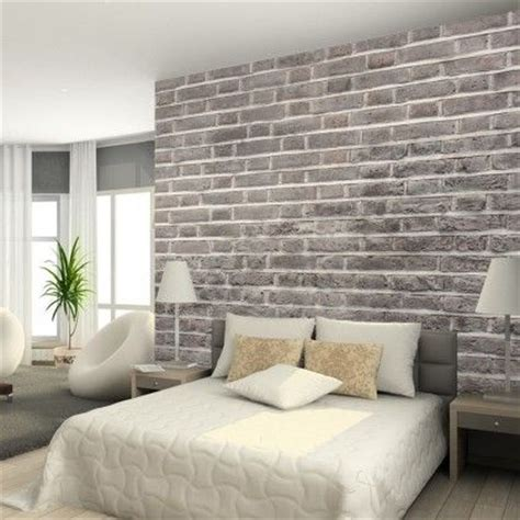 white brick wallpaper bedroom charcoal brick wallpaper from watts london made by watts