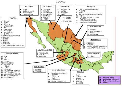 cadenas industriales en aguascalientes mapa maquiladoras mexperiencia