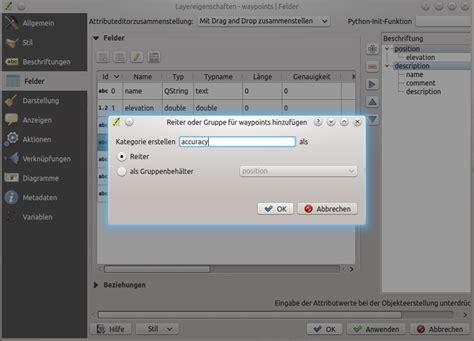qgis layout erstellen vektorlayereigenschaften