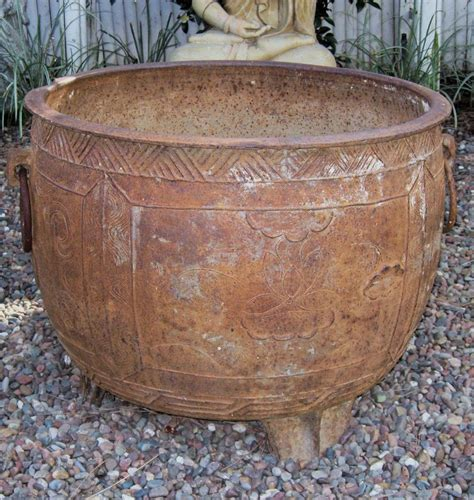 large cast iron pot ming large cast iron pot with ring handles from dynastycollections on ruby