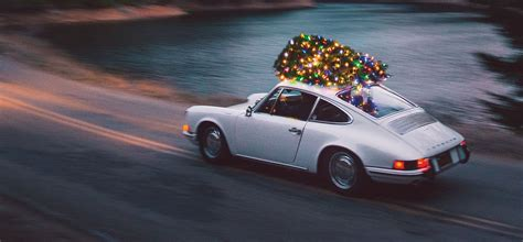 porsche with christmas m e m o huckberry porsche 912 with christmas tree on top