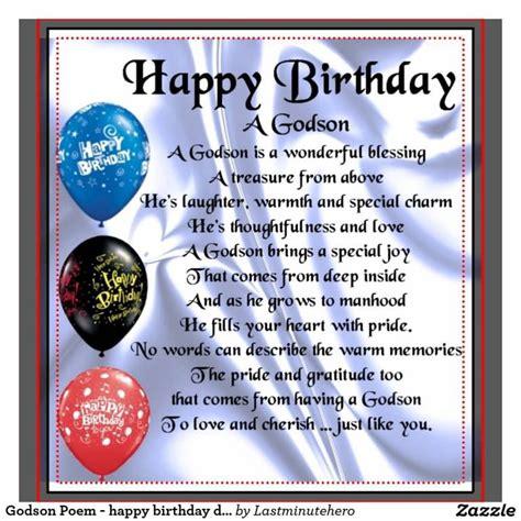 Happy Birthday To My Godson Quotes Godchild Birthday Poems Images