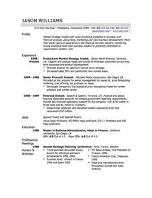 Exle Resume Profile Statement by The Resume Professional Profile Exles Recentresumes