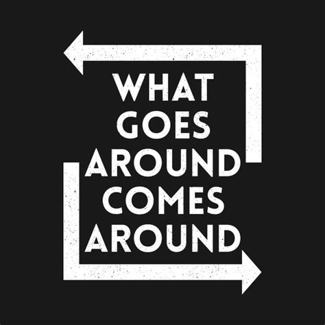 What Goes Around Comes Around by What Goes Around Comes Around White Karma T Shirt