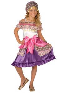 gypsy halloween costume for kids girls gypsy costume