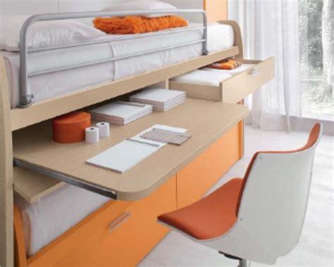 letto con scrivania estraibile camerette con scrivania estraibile il meglio design