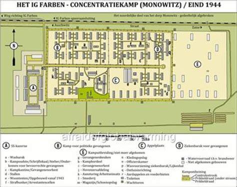auschwitz diagram map auschwitz iii concentration c ig farben