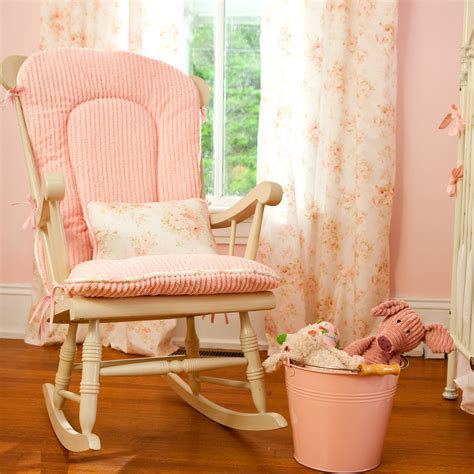 Bedroom Traditional Baby Room With Old Fashioned Baby Cushion For Rocking Chair For Nursery