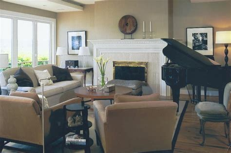 Living Room Arrangements With Piano Sophisticated And Contemporary Living Room Design With