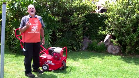 how to aerate your lawn the home depot