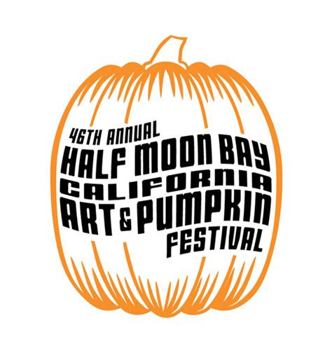 www pumpkin half moon bay art pumpkin festival logo design contest