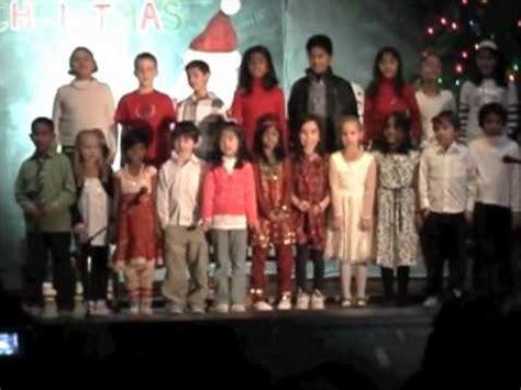 general brock public school christmas carol youtube