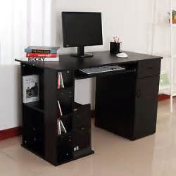 Computer Desk With Printer Storage Home Office Computer Desk Study Pc Table W Storage