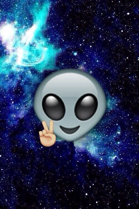 wallpaper galaxy emoji alien black blue emoji galaxy image 4089349 by