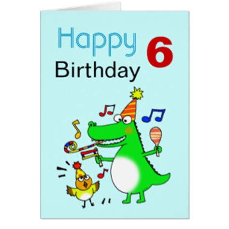 6 year birthday card template 6 year birthday boy cards photo card templates