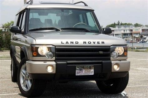 auto air conditioning service 2003 land rover discovery user handbook purchase used 2003 land rover discovery se7 4wd 3rd seat leather dual sunroof heated seats in