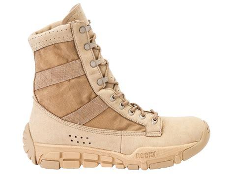lightweight duty boots rocky mens desert leather lightweight c4t trainer