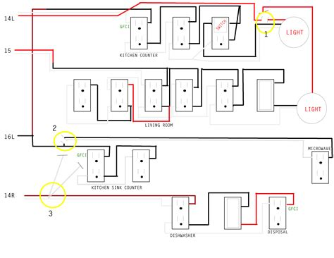kitchen wiring circuit diagram wiring diagram with