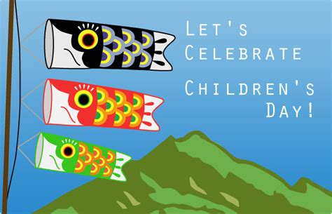 s s day let s celebrate children s day japancentre