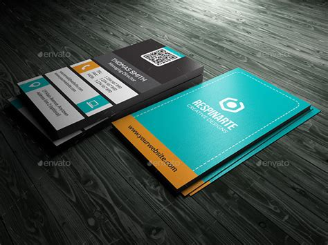 Sided Business Card Template Photoshop by 5 Sided Vertical Business Card Templates