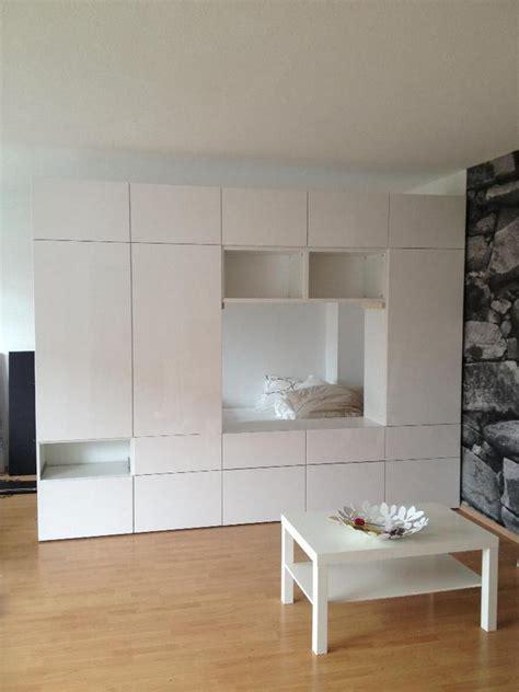 Besta Als Kleiderschrank by Hochglanz Wei 223 Er Wohnzimmer Schrank Ikea Besta In