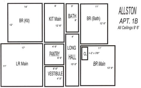 3 bedrooms floor plan allston pictures floor plans