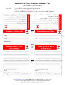 emergency card fill online printable fillable blank