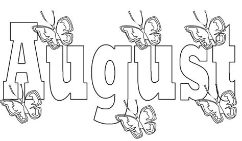 august coloring pages preschoolers  adultsprintable august
